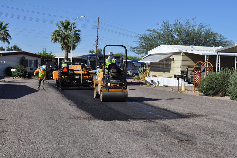 Asphalt Repairs in AZ, CA, UT, NM, and UT