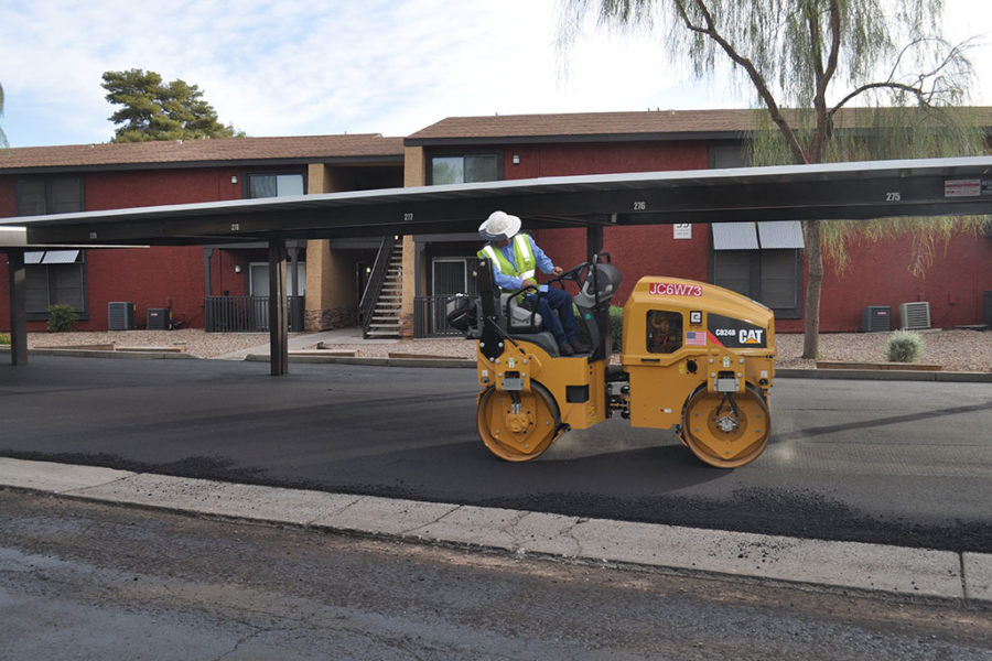 Parking Lot Paving Project in Arizona