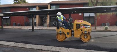 Arizona Asphalt Paving Project