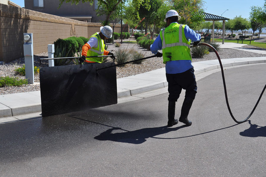 Protect Asphalt with Sealcoating by Sunland