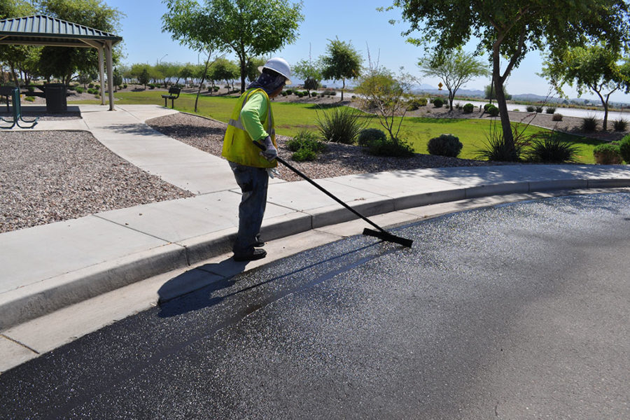 Asphalt Sealcoating Products and Services