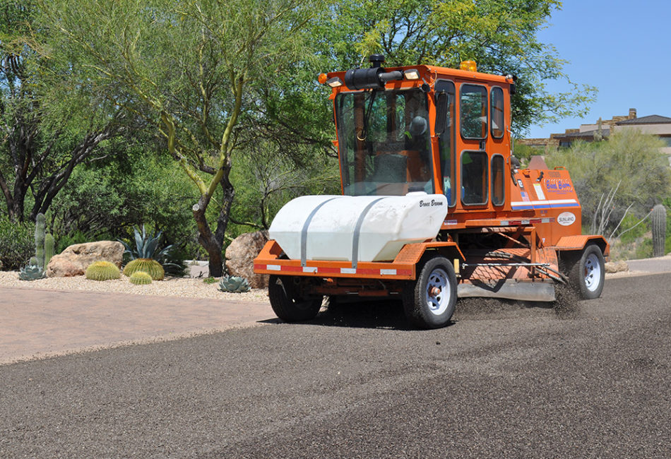 Sunland Asphalt PolyChip Project in Arizona