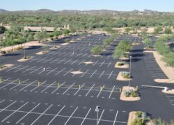 Sunland Asphalt Parking Lot Crack Sealing
