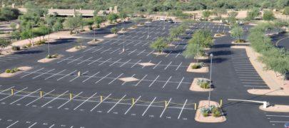 Sunland Asphalt Parking Lot Crack Sealing