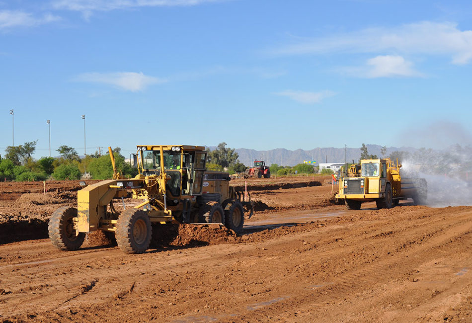 Large Asphalt Paving Project in Arizona
