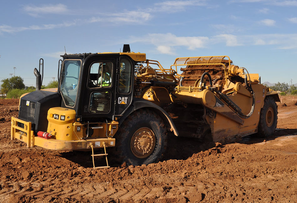 Earthwork & Grading Arizona Project Performance