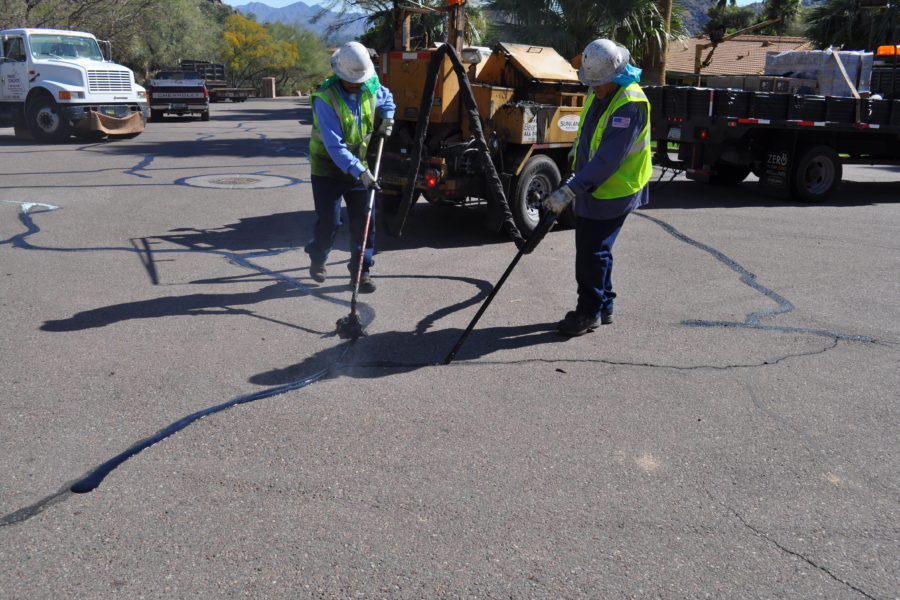 Asphalt Crack Sealing and Repair Services in Arizona