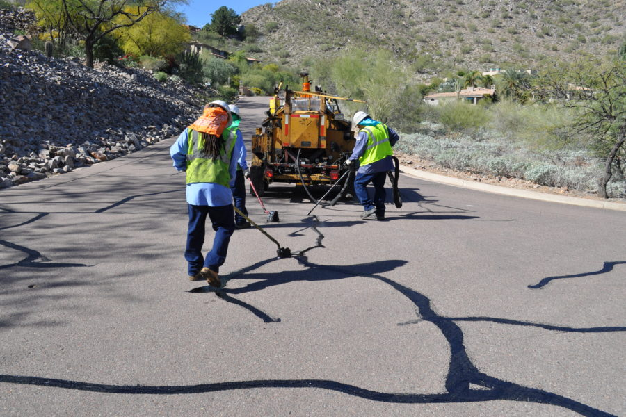 Asphalt Filling and Repair Services