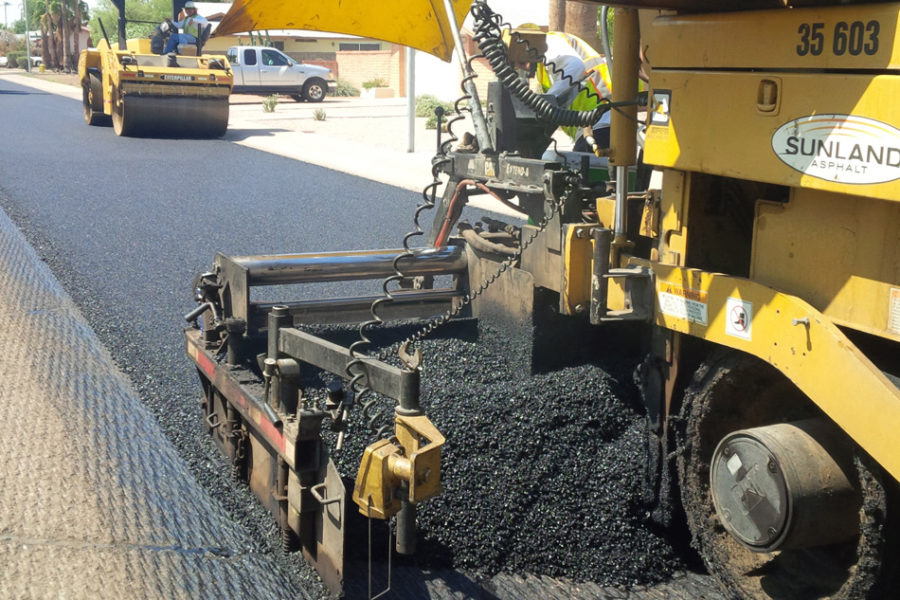 Asphalt Paving Process by Sunland Asphalt