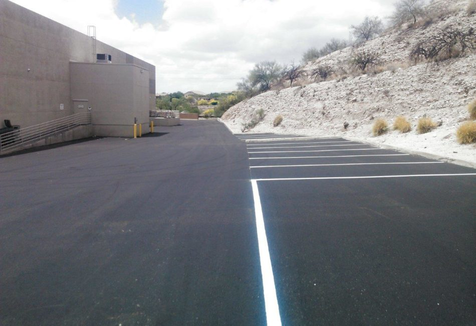 Asphalt Parking Lot Repairs in Tucson