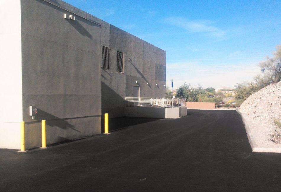 Sunland Asphalt Repairs at River Center in Arizona