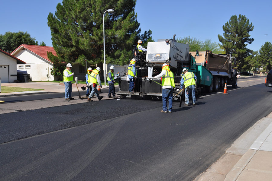 NovaChip High Performance Asphalt Surface Treatment
