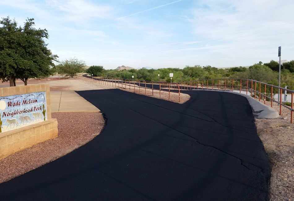 PolyChip Asphalt Surface Treatment in Arizona