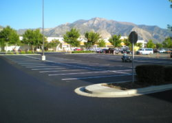 Sunland Asphalt Parking Lot Project for Home Depot