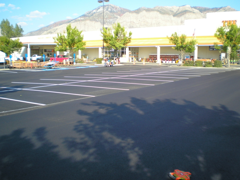 Asphalt Parking Lot Repairs in Utah