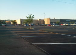 Sunland Asphalt Project for Walmart in New Mexico