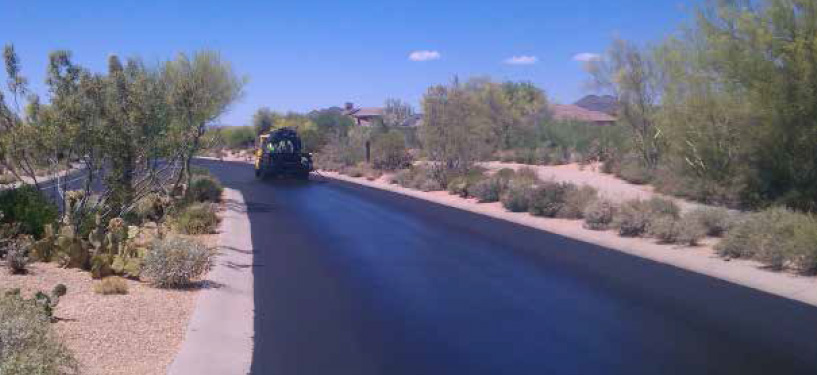 Sunland Asphalt Paving Project in Arizona