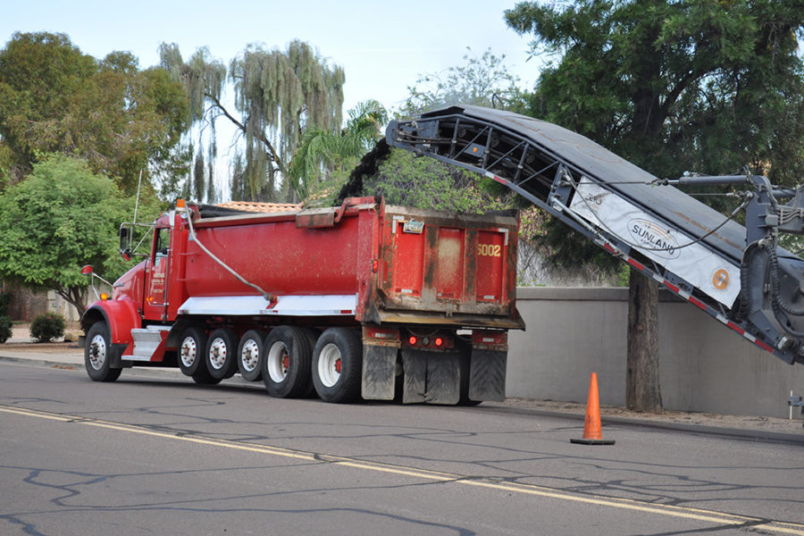 Asphalt Milling Project in Arizona, Nevada, California, New Mexico, and Utah