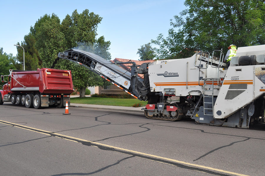 Asphalt Milling in Arizona, Nevada, California, New Mexico, and Utah