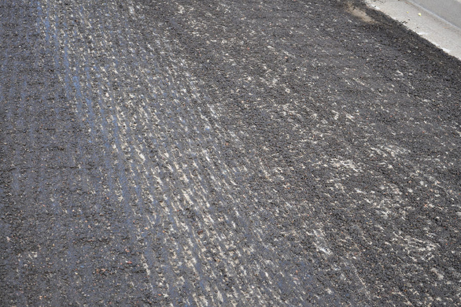 Asphalt Surface Distress Fix