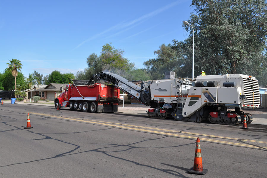 Milling Pavement in California, Arizona, Nevada, New Mexico, and Utah by Sunland