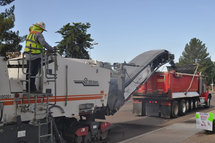 Milling Services in Arizona by Sunland Asphalt