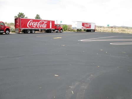 Asphalt Grading and Paving for Coca Cola