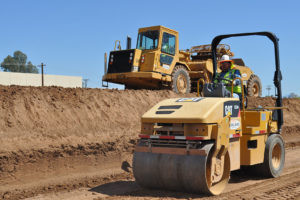 Sunland Team Performs Earthwork & Grading