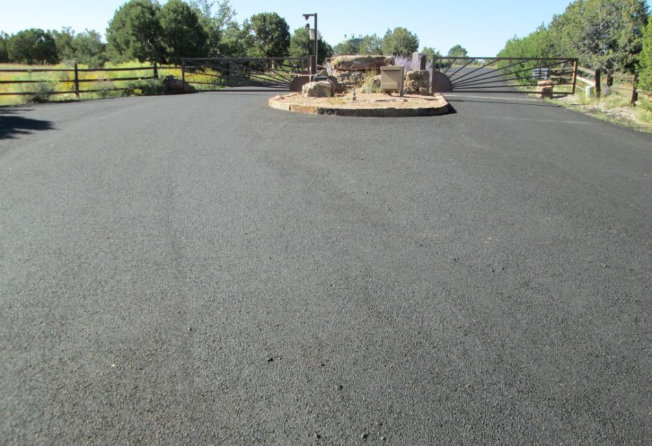Sunland Asphalt Crack Sealing in New Mexico