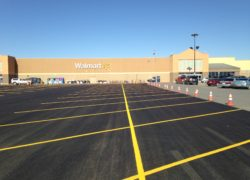 Asphalt Repairs for Walmart in New Mexico
