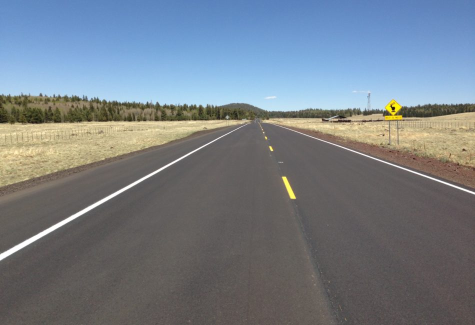 Highway Rehabilitation in Arizona by Sunland Asphalt