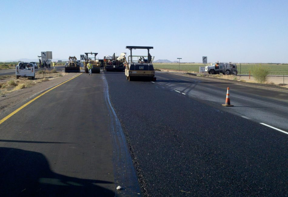 Government Asphalt Milling, Paving, and Traffic Counters