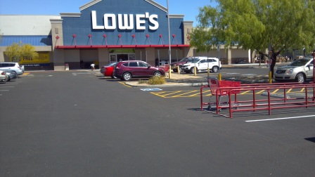 Asphalt Patching for Lowes in Arizona