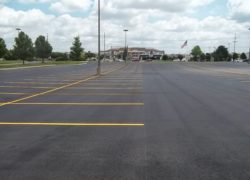 Parking Lot Asphalt Overlay in Michigan