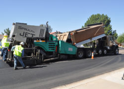 NovaChip Installation in Arizona by Sunland Asphalt