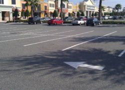 Parking Lot Restriping in Florida