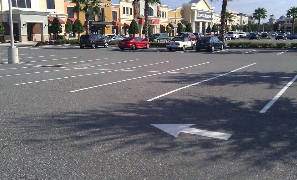 Parking Lot Restriping in Florida