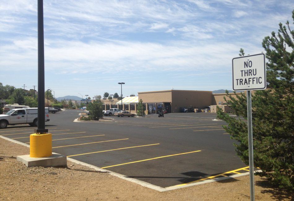 Asphalt Repair for Walmart in Arizona