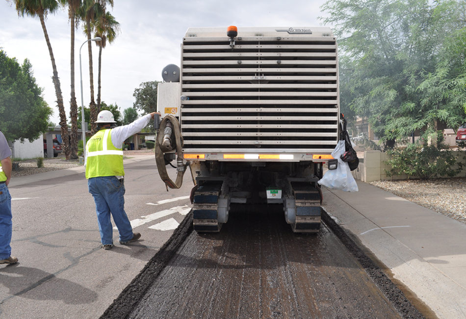 City of Tempe Asphalt Milling Project