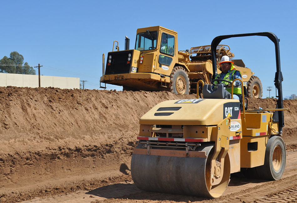 Building over-excavation and other services from Sunland Asphalt
