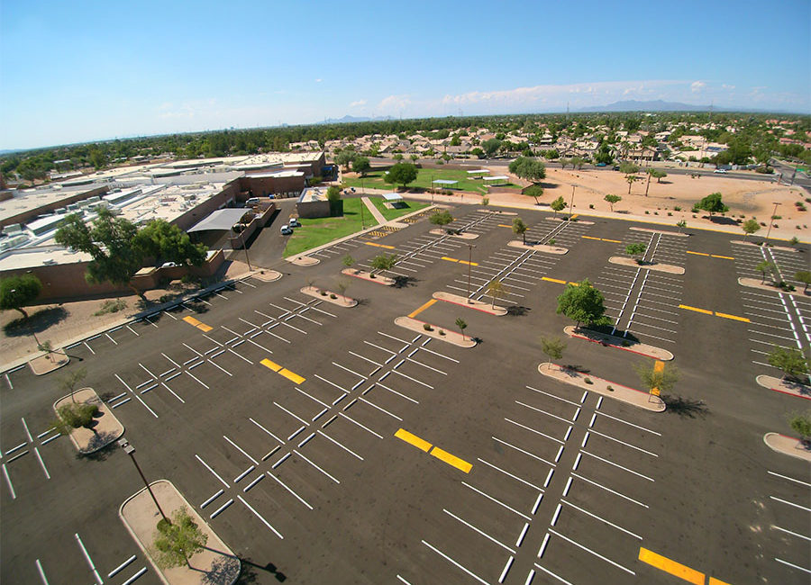 Gilbert High School - AERIAL (2) - web