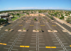 Gilbert High School - AERIAL (4) - web