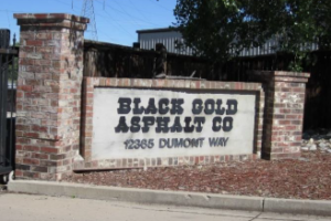 Black Gold Entrance