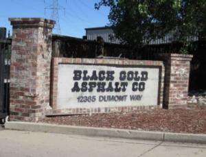 Black Gold Entrance