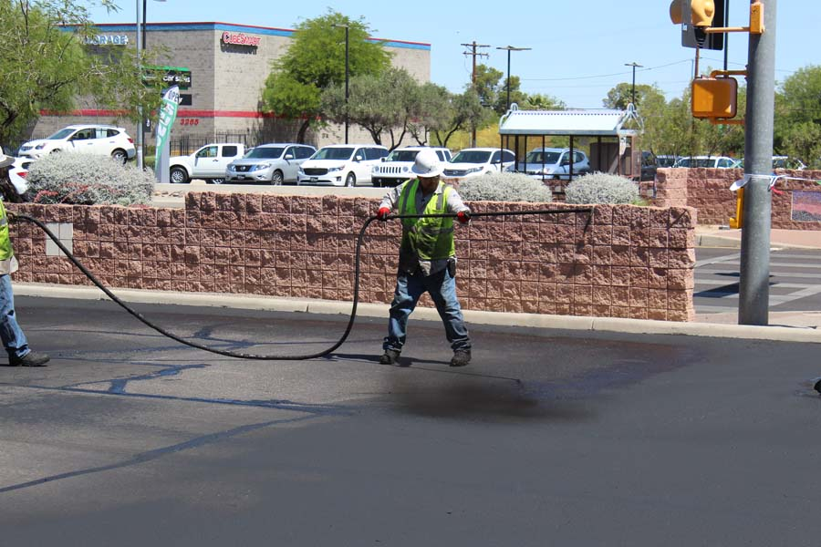 Rancho Center - Tucson - AERIAL - Seal Coat (4)-web