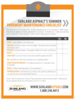 Summer Pavement Maintenance Checklist - vF